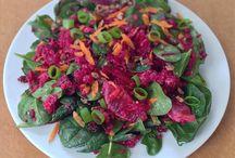 Quinoa salad / Quinoa,Beetroot and spinach