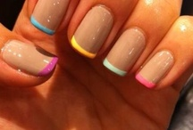 Her n nails.