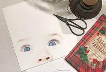 Weihnachtskarten- und Briefe