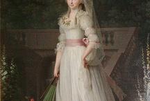 XVIII century portraits
