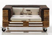 mobili con bancali