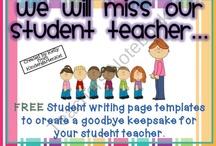 Farewell book student teacher