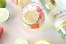 Delicious Wine Cocktail Recipes / Simple and Delicious Wine Cocktail Recipes using my favorite #Mirassou Wines.