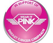 Wear it pink 2013 / In support of the Breast Cancer Awareness Campaign #wearitpink