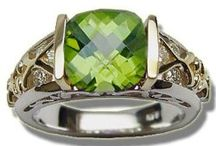 Peridot / Peridot Rings & Jewelry