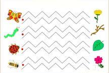kreatív gyermek / ötletek a gyermekek ábrázoló tevékenységéhez / by Hacsi Anna