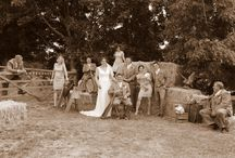 My best friends wedding..... / Rural, rustic, country, agricultural and more, the prettiest wedding.