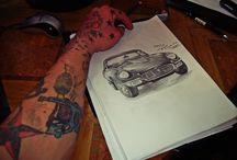 Tesu Tattoo Artist drawings