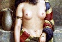 Paint Inspiration Still Life Nude