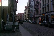 Torun / Beautiful city... snow and christmas environment :D