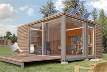 Boxcar container home living