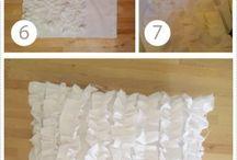 Throw pillows DIY & IDEAS