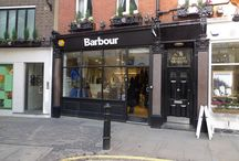 Barbour Stores / An inside (and outside) look at our every growing Barbour stores.  / by Barbour