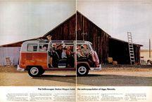 Old VW ads / All those fantastic vintage Volkswagen ads
