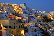Santorini, Greece / Santorini , and officially Thira , is an island in the southern Aegean Sea, about 200 km (120 mi) southeast from Greece's mainland. It is the largest island of a small, circular archipelago which bears the same name and is the remnant of a volcanic caldera.