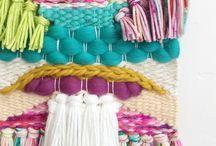 pletení, šití