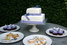 Lavender wedding Prague / Lavender cake, cupcakes and cookies
