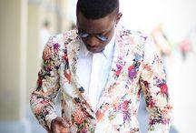 flowery suit