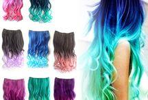 cabello de colores ❤