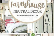 Farmhouse design