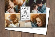 Save the Date / Save the date cards and postcards, photo save the date postcards - let them know you're getting married with style.