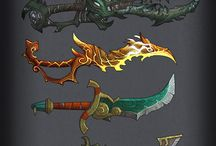 World of Warcraft Weapons / Every kind of World of Warcraft Weapons I can find