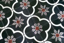 Carpet & tegel