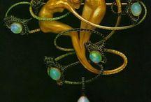 Jewellery: art nouveau