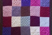 stardust melodies crochet blanket in squares 1-24