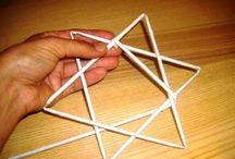 Pedig / pletení z pedigu a papíru