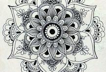 Mandalas tatoo