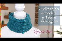 video cuello al crochet