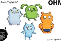 Ohm Beads Uglydoll Collection