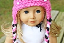 Dolls clothing and hats