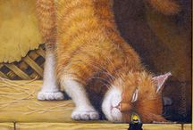 All Cat Images and items / by Shirley Ogryski