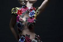 Fashion Flower Braid Hair by Udi Bitton