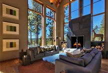 Great Rooms / The Great Room is an important feature in any Lake Tahoe home.