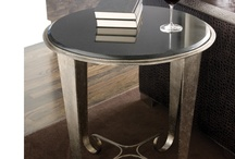 Accent Tables That Make an Impact / The accent tables in a room are often considered supporting design elements.  However, the right accent table can really make a difference in how the room all comes together! / by Suzanne Lasky