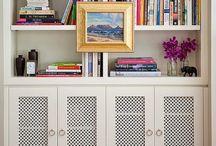 Könyvespolc styling / bookcase styling