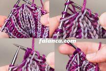 pletení(brioche)