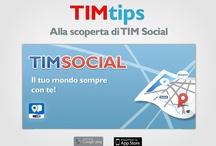 TIM Social / TIM Social è l'app per aggregare i tuoi contenuti o quelli dei tuoi amici su tutti social network, localizzare i negozi TIM nei quali accedere a offerte esclusive e da qualche giorno accedere a sconti per i ristoranti di Roma, Milano, Torino o Venezia! ... e molto altro! :-)