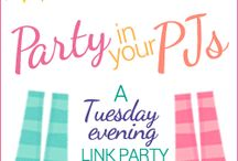 Blogging: Link Parties & Giveaways / Blog link parties, Giveaways, Contests
