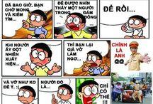 Doremonche / Ảnh chế doremon hài hước. LH http://www.toanphatcorp.vn/