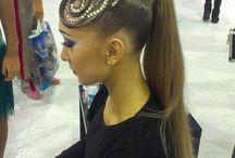 Peinados baile