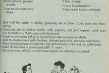 Celebrity Cookbook and Old Recipes