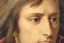 Napoléon Bonaparte / Sur le même thème, voir les tableaux : Bonaparte / Napoléon : La Famille / N. : Les Maréchaux / N. : 1812 le désastre de Russie / Waterloo / Napoléon controversé / N. : Images d'Epinal