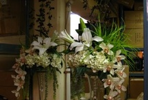 Events & Weddings - Floral - My Own Work / Examples of my work as a floral designer, creating bouquets and arrangements at Chintz & Co., a luxury home furnishings and accessories boutique.