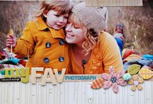 Scrapbooking Ideas and Inspiration / Ideas and inspiration for scrapbooking layouts and pages.