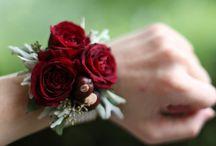 Hochzeits blumen Handschmuck