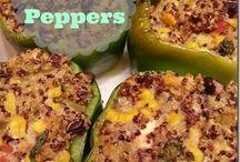Healthy foods / Quinoa Italian salad